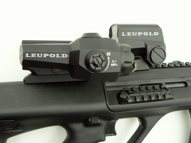 Leupold  D-EVO 6x20 mm (Dual enhanced view optic) / LCO Red Dot  - Image 1