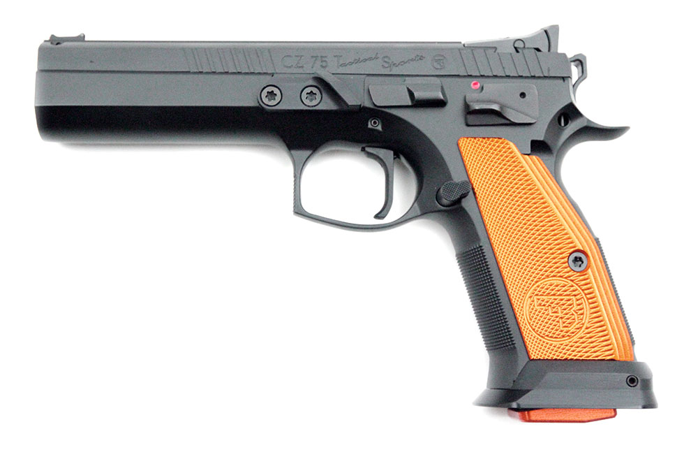 CZ 75 Orange Tactical Sports, 9 x 19 mm - Image 1