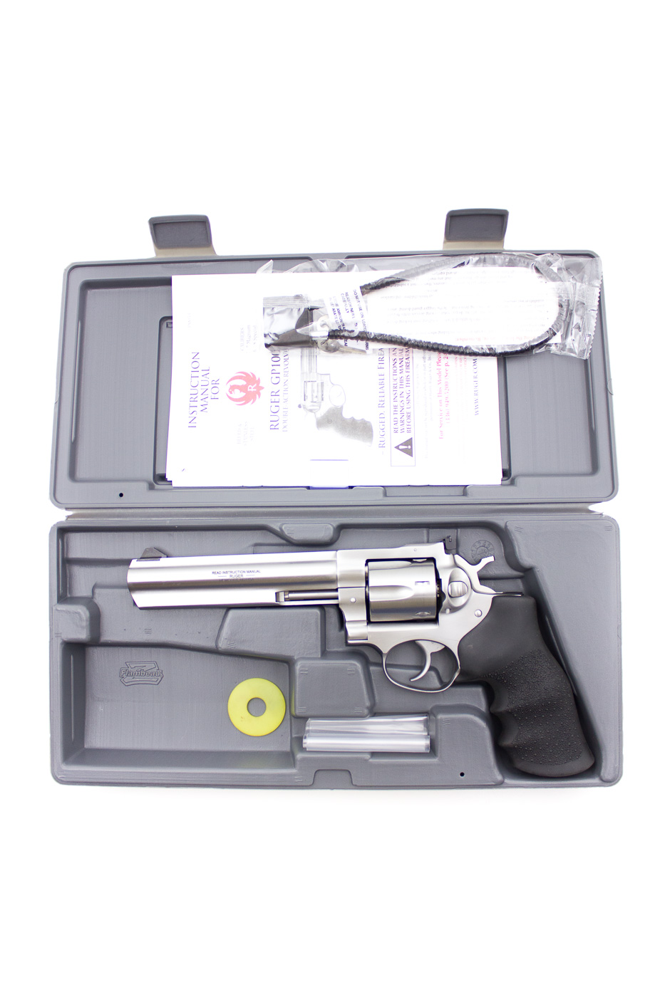 Ruger GP100, Stainless .357 Magnum - Image 1