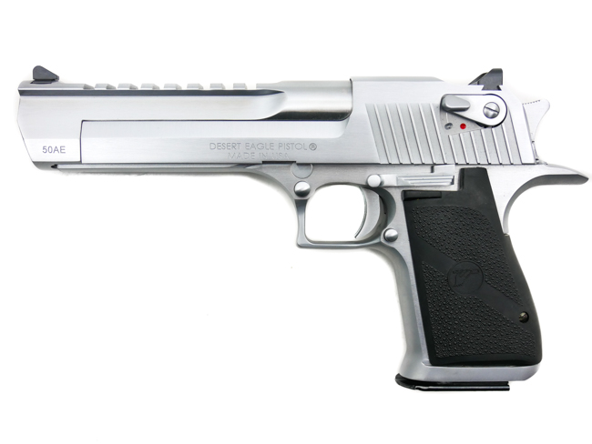 Desert Eagle, .50 Action Express, Brushed Chrome - Image 1