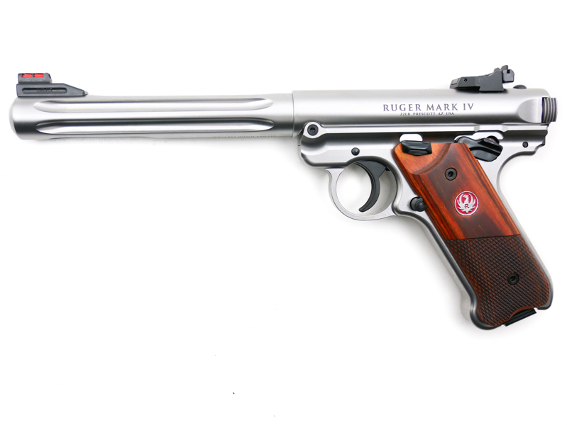 Ruger MK IV Hunter Stainless, .22 LR - Image 1