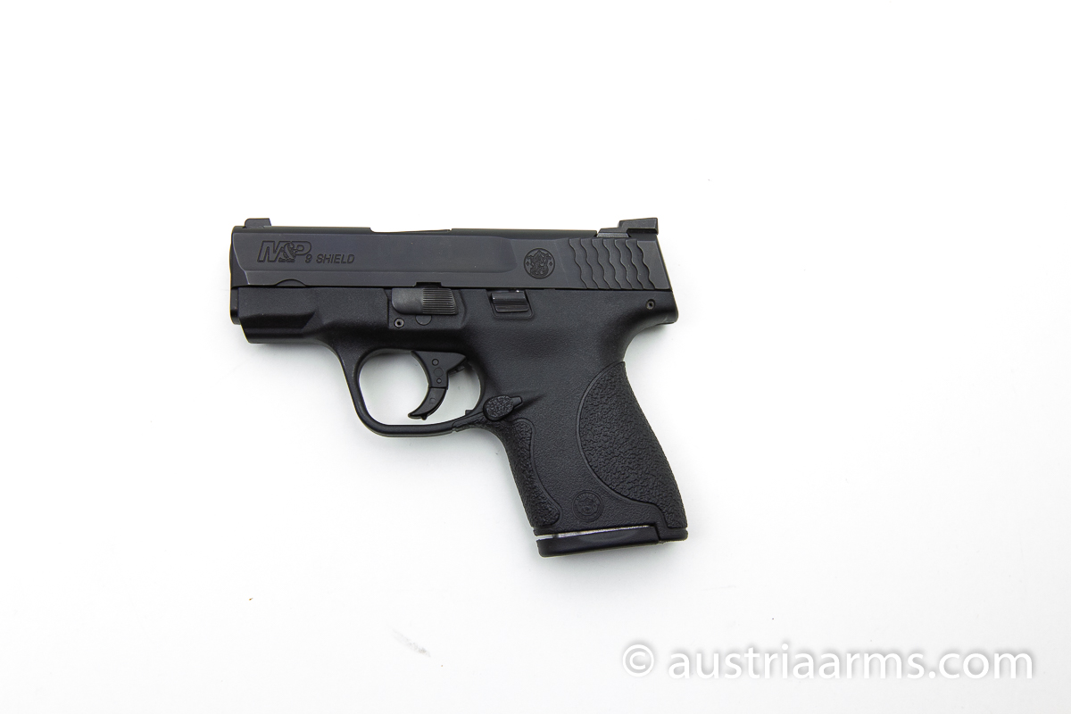 Smith & Wesson M&P9 Shield mit Night Sights, 9 x 19 mm - Image 1