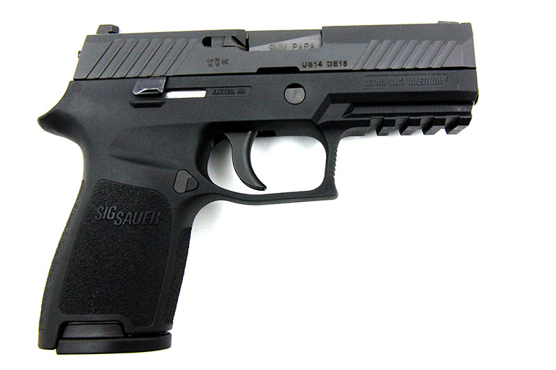 SIG Sauer P320 Compact, 9 x 19 mm - Image 2