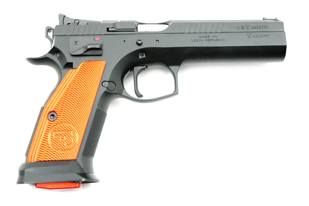 CZ 75 Orange Tactical Sport, 9 x 19 mm - Image 2