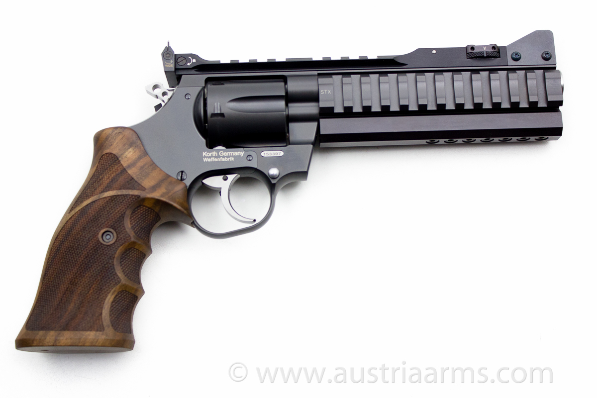 Korth National Standard Super Sport STX, .357 Magnum - Image 2