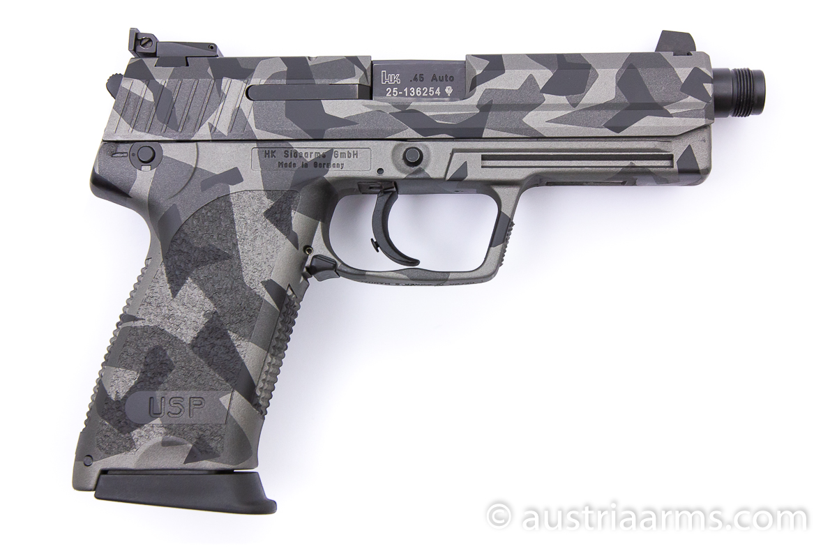 Heckler & Koch USP Tactical, Splinter Camo, .45 ACP - Image 2