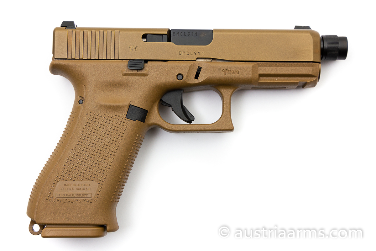 Glock 19X Tactical, Gewindelauf / threaded barrel, 9 x 19 mm - Image 2