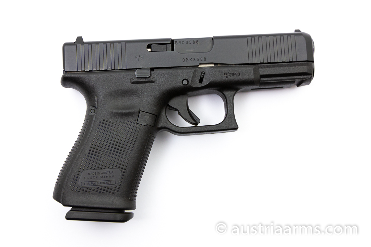 Glock 19 Gen 5 Front Serrations, 9 x 19 mm - Image 2