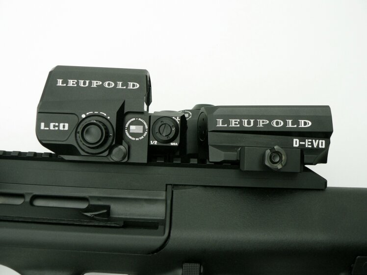Leupold  D-EVO 6x20 mm (Dual enhanced view optic) / LCO Red Dot  - Image 4