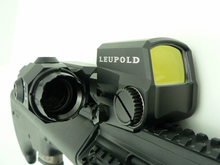 Leupold  D-EVO 6x20 mm (Dual enhanced view optic) / LCO Red Dot  - Image 5