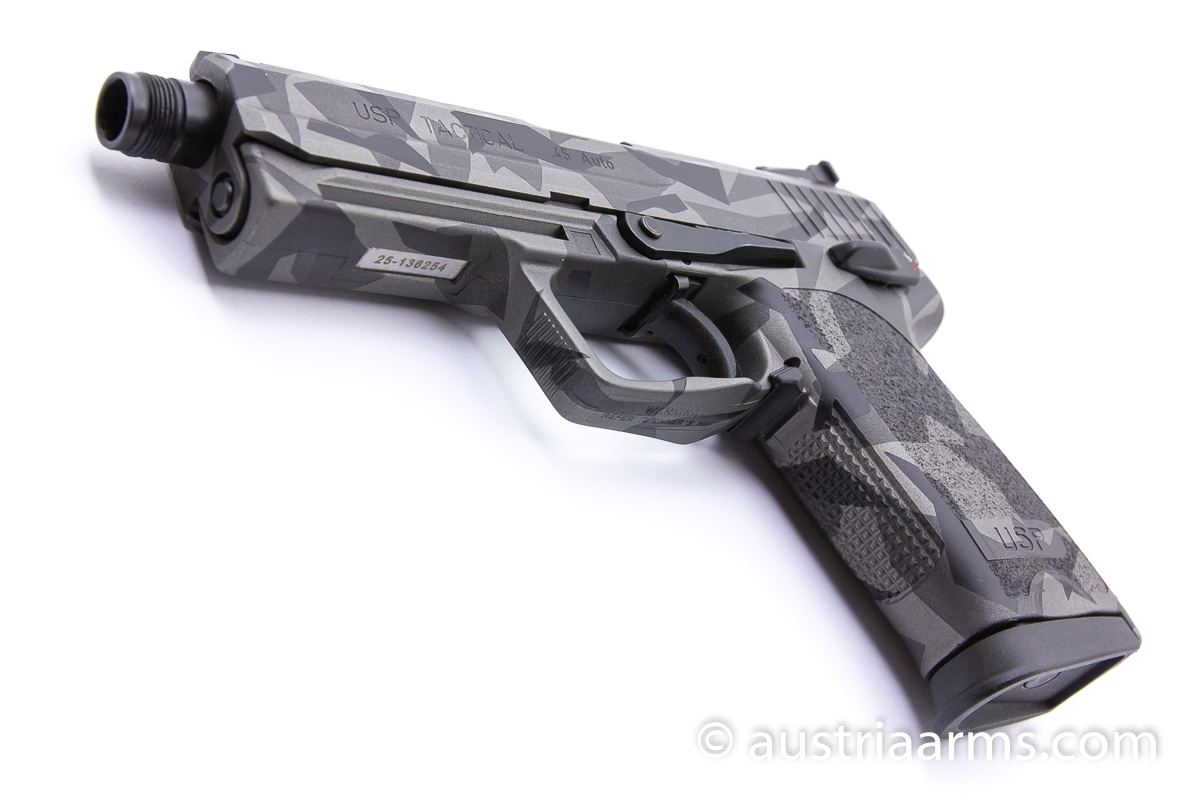 Heckler & Koch USP Tactical, Splinter Camo, .45 ACP - Image 5