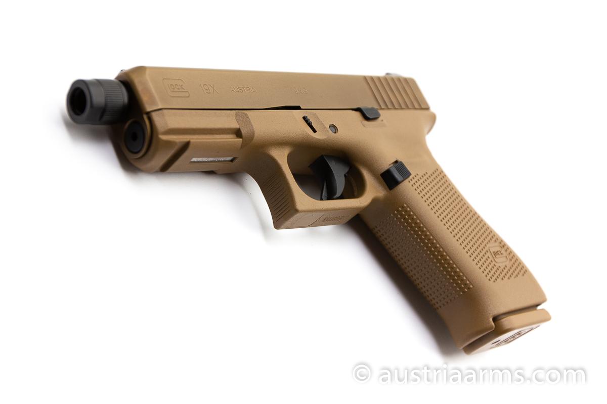 Glock 19X Tactical, Gewindelauf / threaded barrel, 9 x 19 mm - Image 5