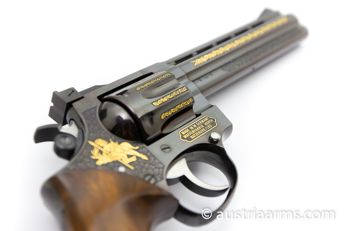 Korth Combat 6.0 inch, engraved Luxury Version, .357 Magnum - Image 6