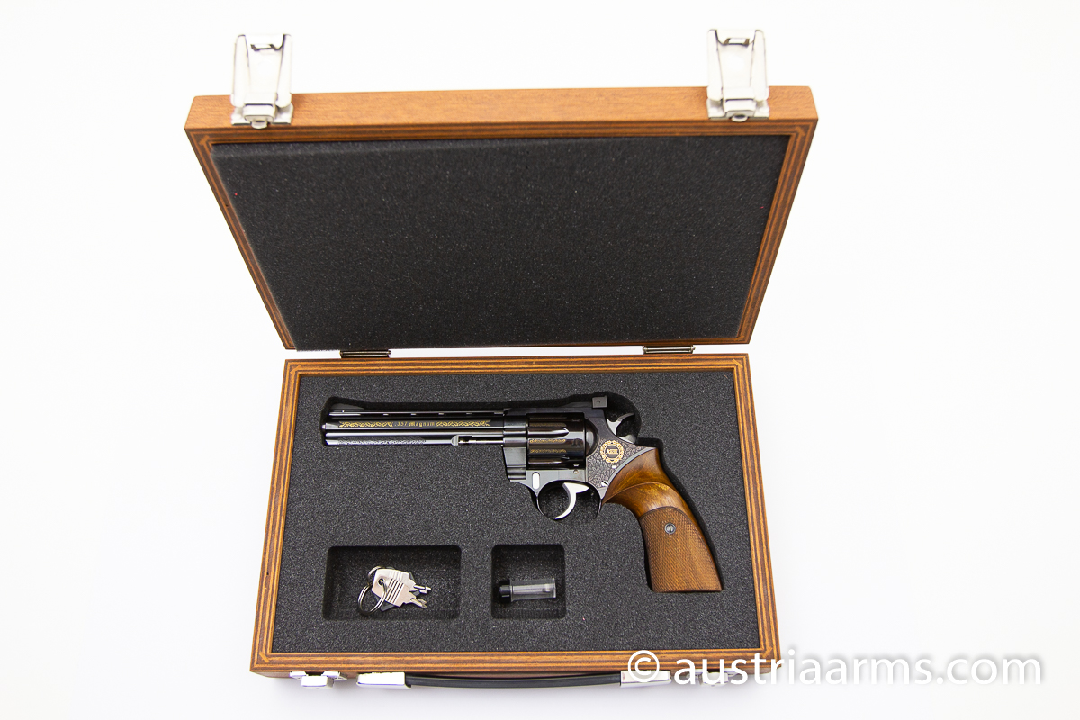 Korth Combat 6.0 inch, engraved Luxury Version, .357 Magnum - Image 7